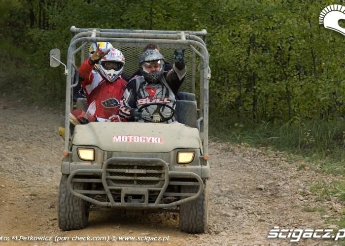 kawasaki mule ekipa motocykl