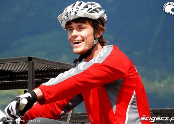 Ekipa rowerowa zawodnik