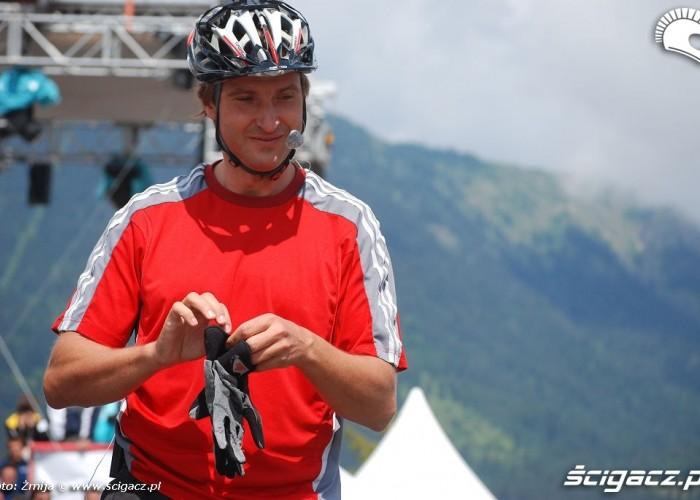 Zawodnik mountain bike