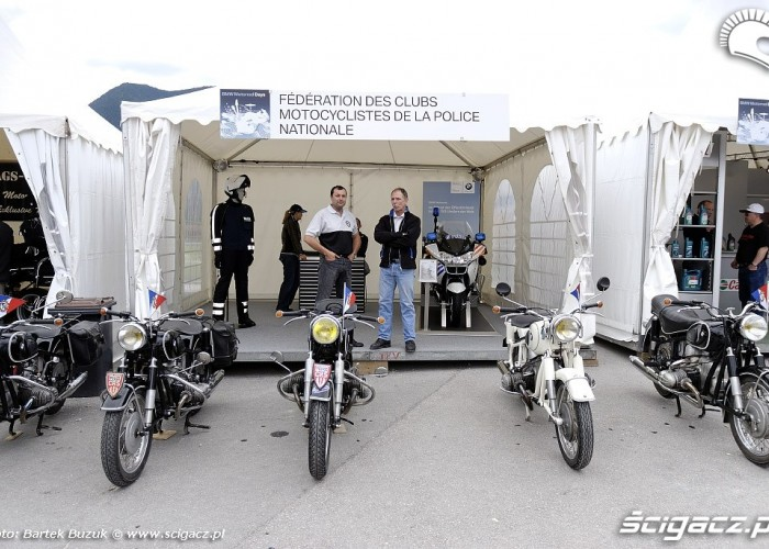 BMW Enduro team Motorrad Days