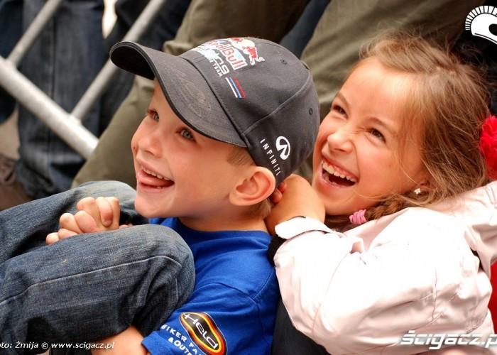 Dzieciaki na Garmisch