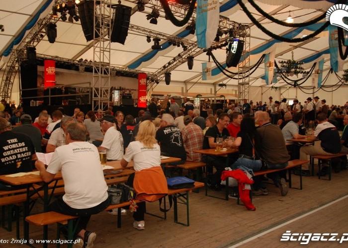 Imprezowy namiot na Garmisch