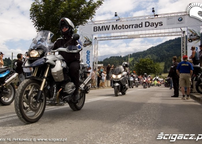BMW motorrad days 2008 parada motocykli