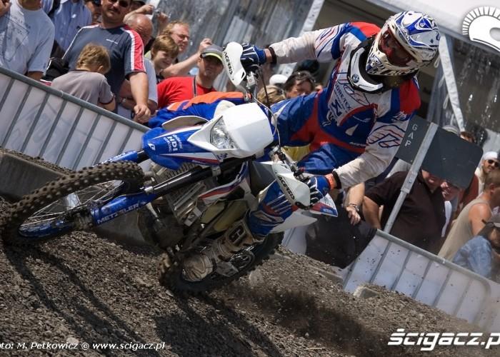 bmw g450x zakret extreme bmw motorrad 2008