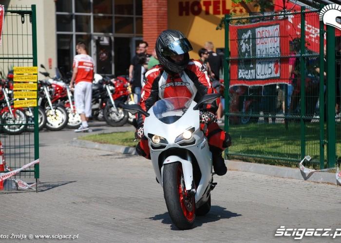 Ducati 848 jazda testowa