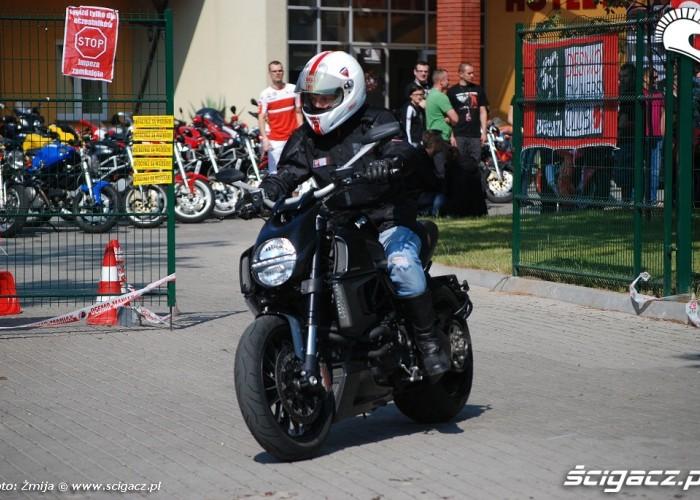 Ducati Diavel jazda testowa