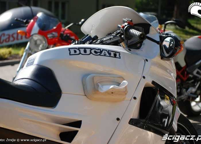 Ducati Paso biala lodowka