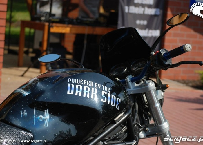Ducati Powered by the dark side