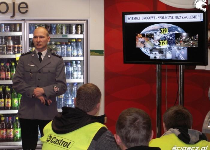 bezpieczenstwo Lodz 2011 Motocyklowa Niedziela na BP