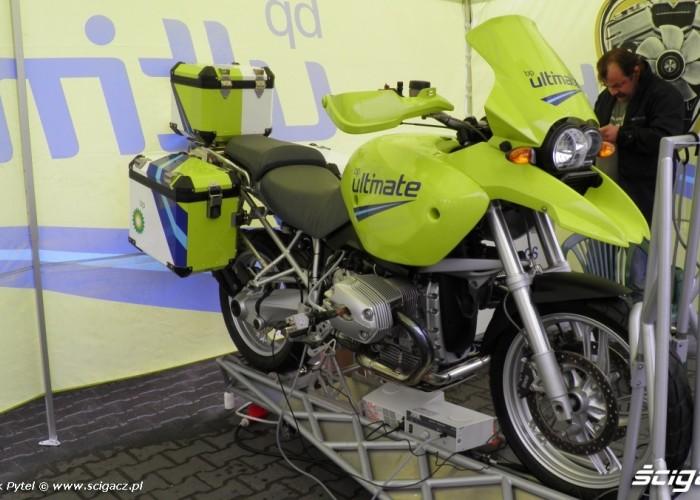 bp test paliw Motocyklowa Niedziela na BP Lodz 2011