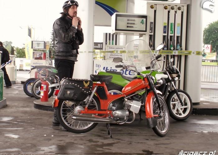 komer Lodz 2011 Motocyklowa Niedziela na BP