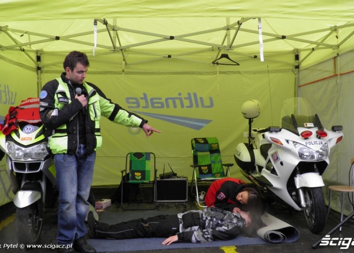 kurs Motocyklowa Niedziela na BP Lodz 2011