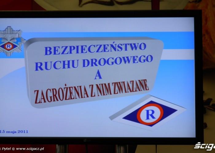 kurs policja Motocyklowa Niedziela na BP Lodz 2011
