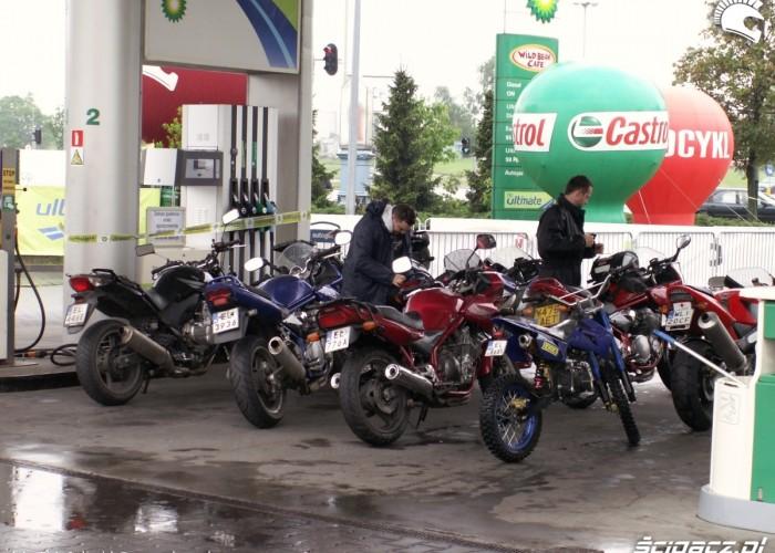 motocykle Lodz 2011 Motocyklowa Niedziela na BP