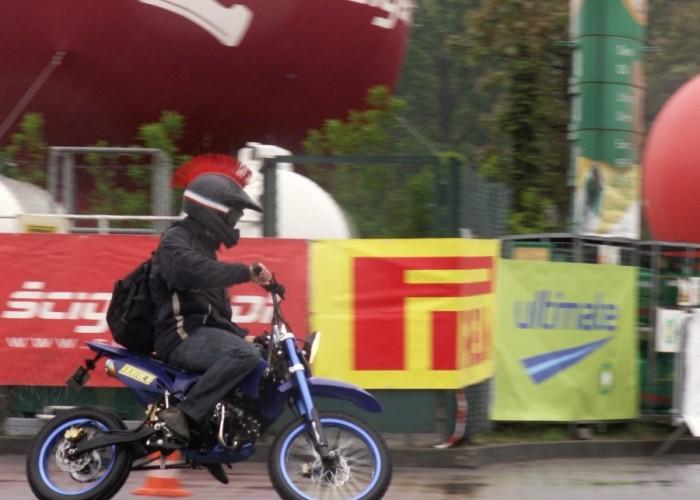 motocyklowa gietara Lodz 2011 Motocyklowa Niedziela na BP
