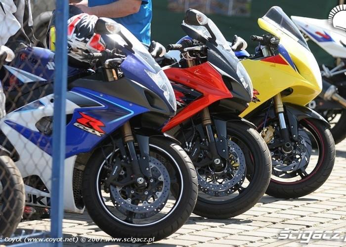 Dni Suzuki Tor Poznan 2007 motocykle