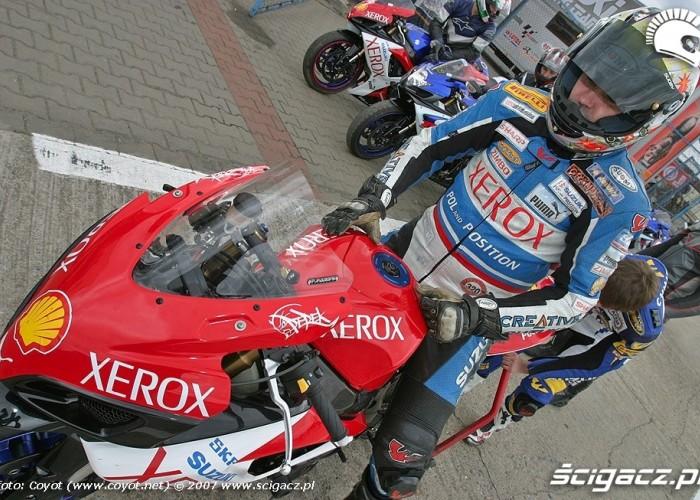Dni Suzuki Tor Poznan 2007 motocyklista