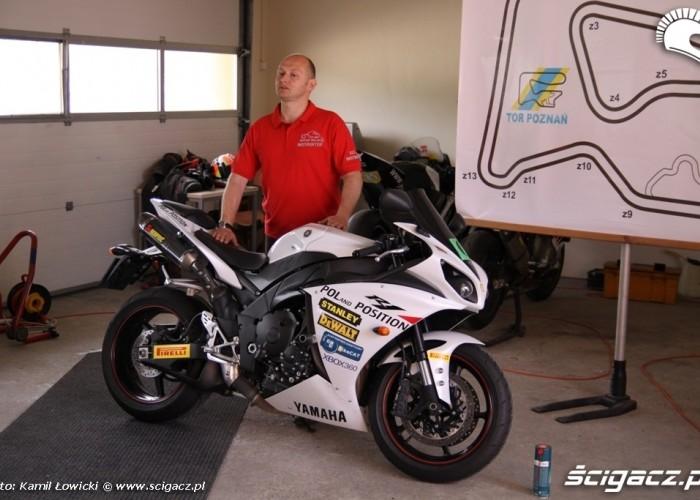 Dzien motocyklisty Artur Wajda