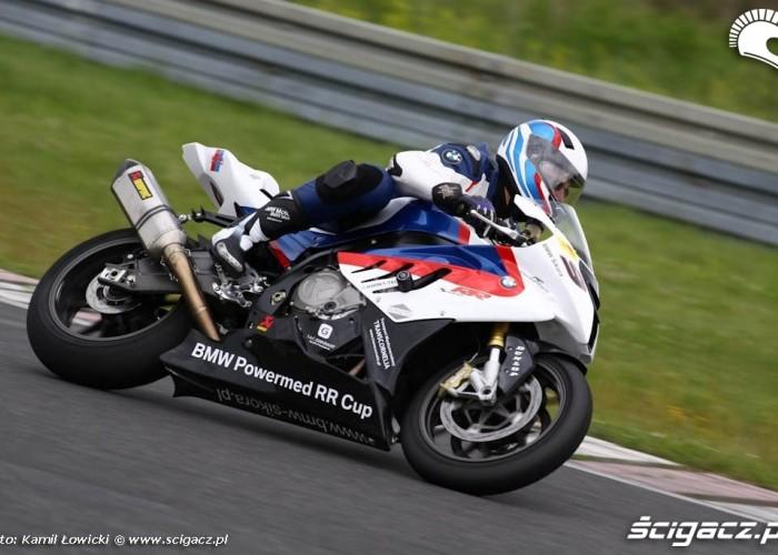Dzien motocyklisty na torze Poznan S1000RR