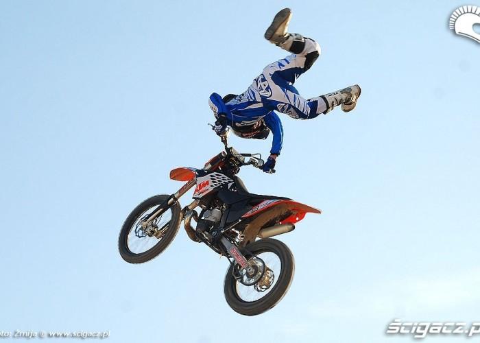EICMA freestyle motocross show