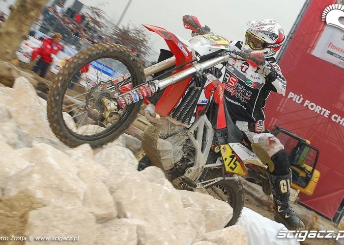 Milan EICMA Enduro race