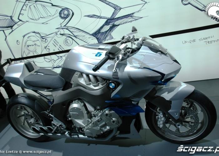 Concept Targi EICMA Mediolan 2009 BMW Concept6