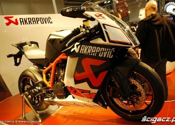 EICMA Milan 2009 KTM Akrapovic