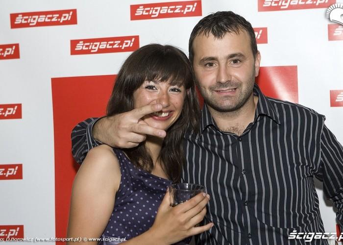 magda krasicka michal pernach urodziny scigacz klub taboo 2009 h mg 0171