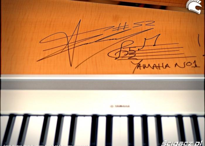 autograf mistrza
