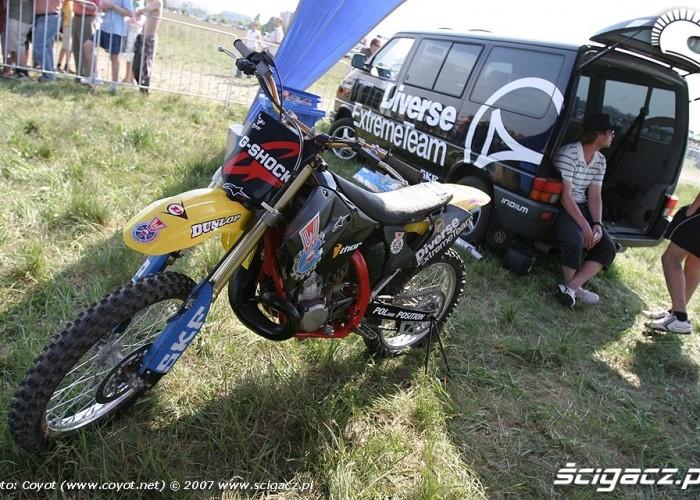Diverse Extrem Team Suzuki RM 250