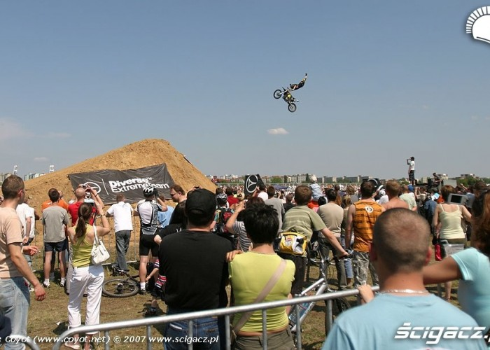 Freestyl Motocross na Extrememoto