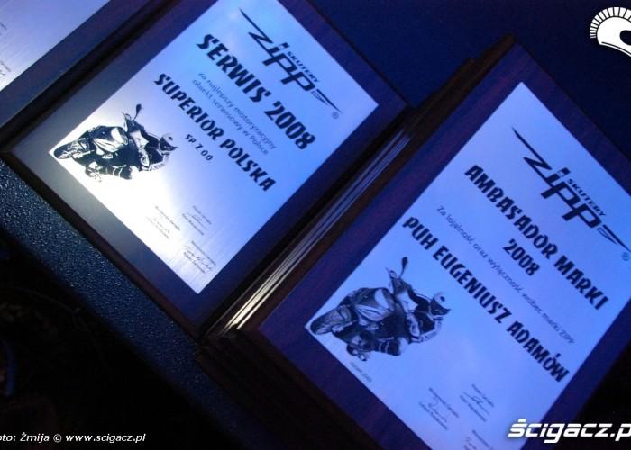Nagrody Serwis Roku Ambasador Marki Zipp
