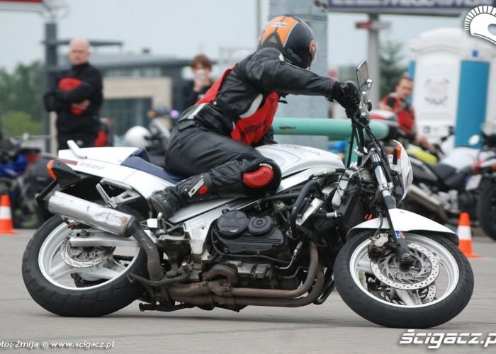 750F Honda w akcji