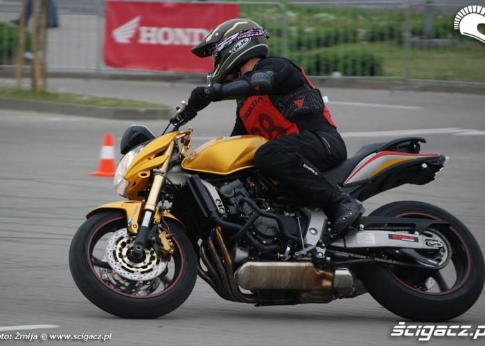 Bonczak Lukasz jazda motocyklem
