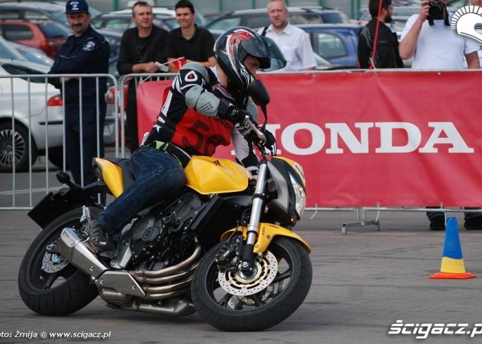 Honda Hornet Gymhana