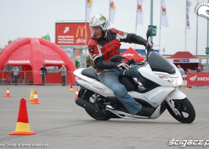 Honda PCX w akcji