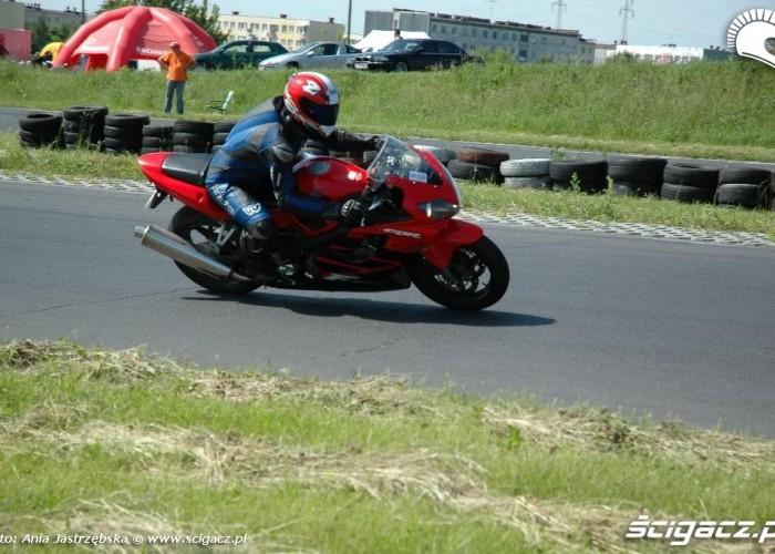 cbr na torze Honda Pro-Motor Lublin