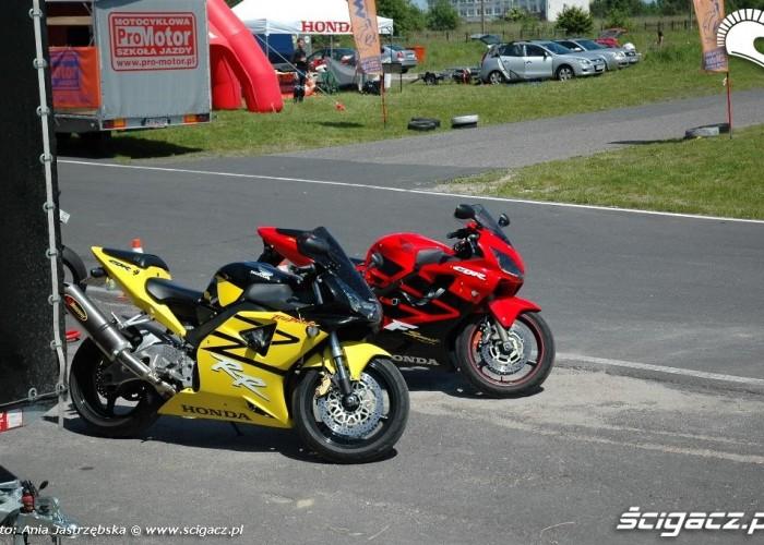 dwie cebeerki Honda Pro-Motor Lublin