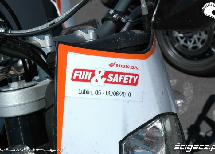 fun and safety honda tor lublin