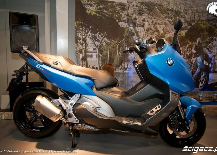 bmw c600 sport niebieski