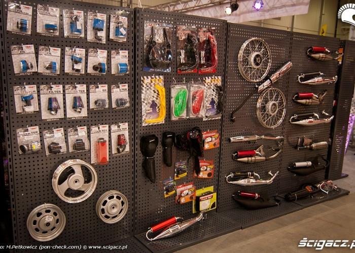 czesci motocyklowe stoisko targi wystawa 2012