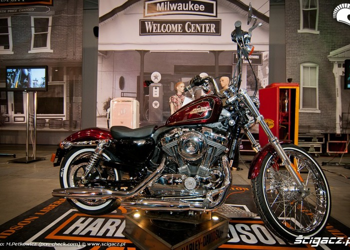 harley davidosn targi motocyklowe