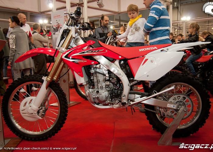 honda crf450x targi motocyklowe