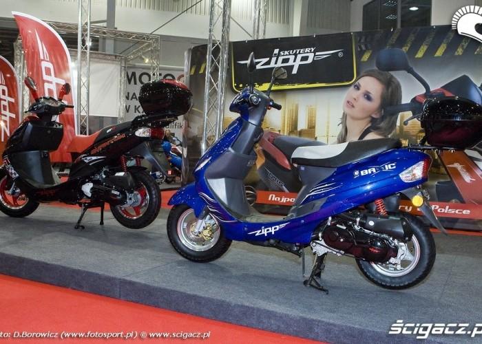 skutery zipp wystawa motocykli warszawa 2009 e mg 0547