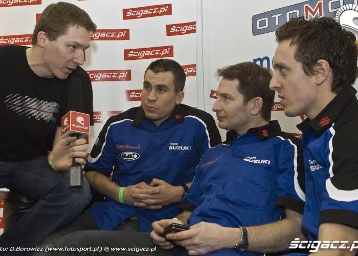wywiad francuzi wystawa motocykli warszawa 2009 e mg 0094