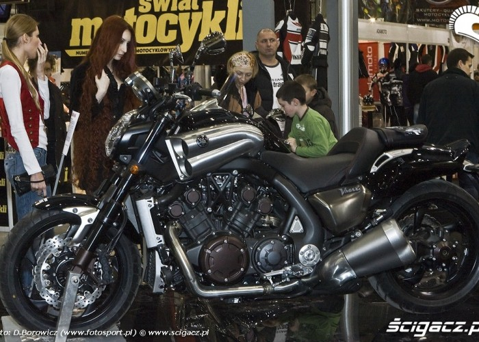 yamaha vmax wystawa motocykli warszawa 2009 e mg 0553