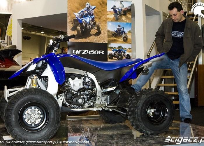 yzf450r yamaha wystawa motocykli warszawa 2009 e mg 0558