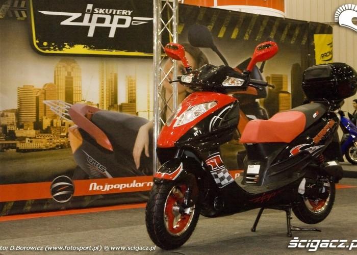 zipp skuter wystawa motocykli warszawa 2009 e mg 0544