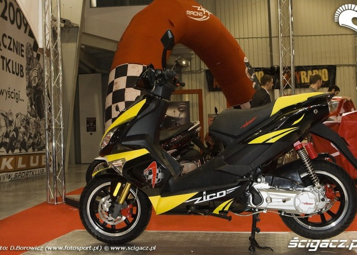 zipp zico wystawa motocykli warszawa 2009 e mg 0557