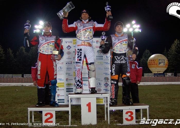 podium polfinal